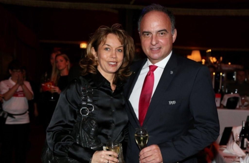 Ханси Мюллер с женой