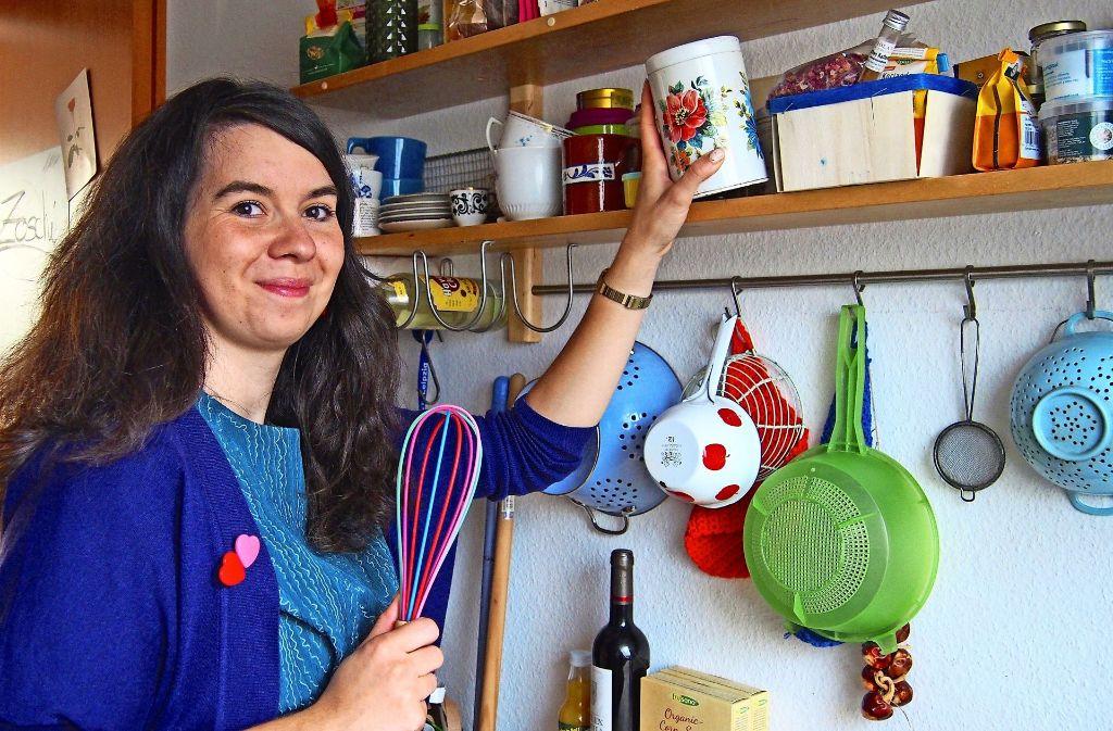 """Für ihren Food-Blog """"The whitest cake alive"""" backt Sonja Lukenda für ihr Leben gern gern süße Spezialitäten. Foto: privat"""
