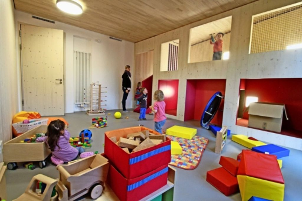Nicht nur im Kinderhaus Schloss  in der Kernstadt  sollen Kleinkinder betreut werden, sondern auch in den Stadtteilen.. Foto: factum/Bach