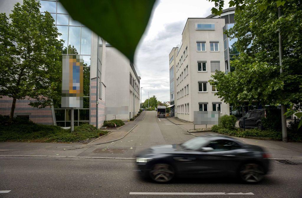 Die Unfallstelle in Stuttgart-Zuffenhausen. Foto: Lichtgut/Max Kovalenko