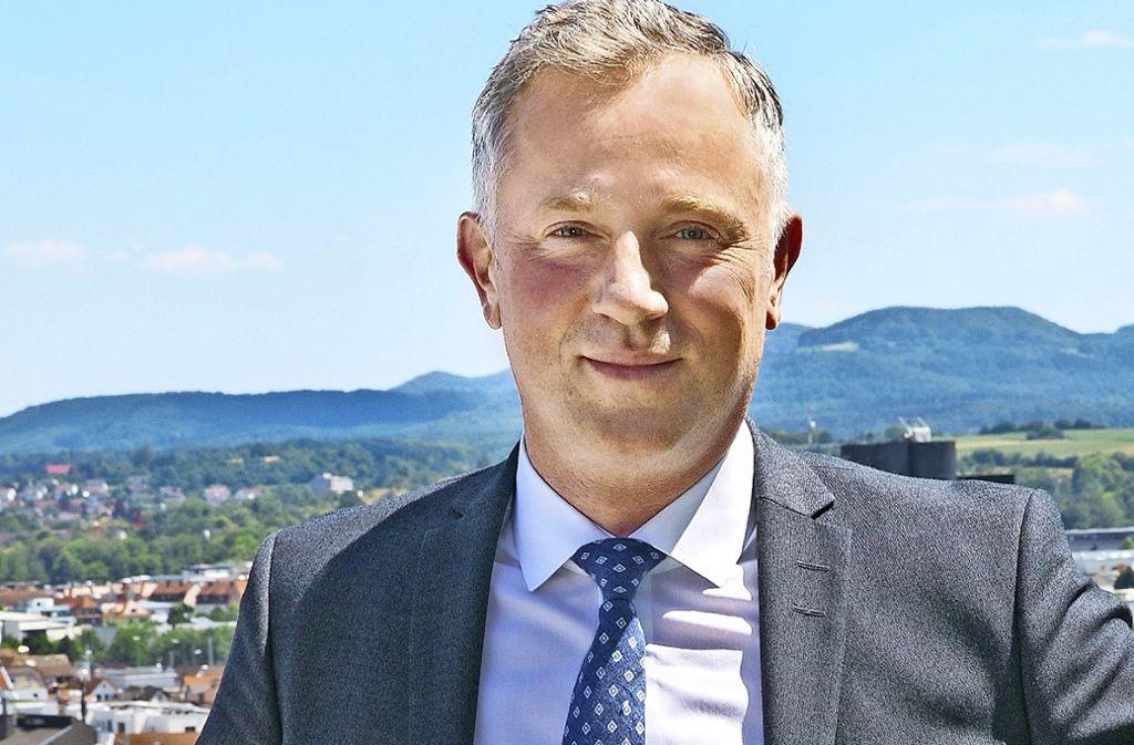 Schuler-Chef Domenico Iacovelli hat schon vor mehr als 15 Jahren mit Schuler zusammen  gearbeitet. Er kennt den Markt und die Kunden bestens. Foto: Ines Rudel