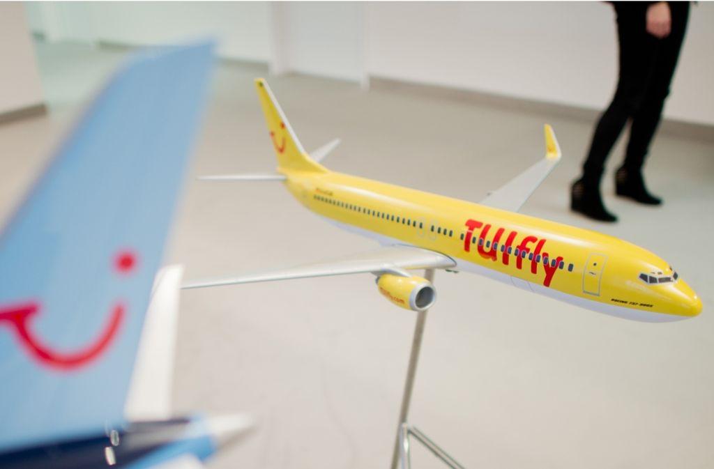 Bei Tuifly starten am Freitag keine Flieger. Foto: dpa