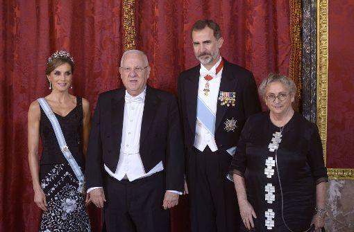 Festlicher Empfang im spanischen Königshaus