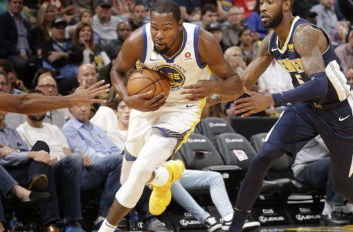 Superstar Durant verlässt die Golden State Warriors