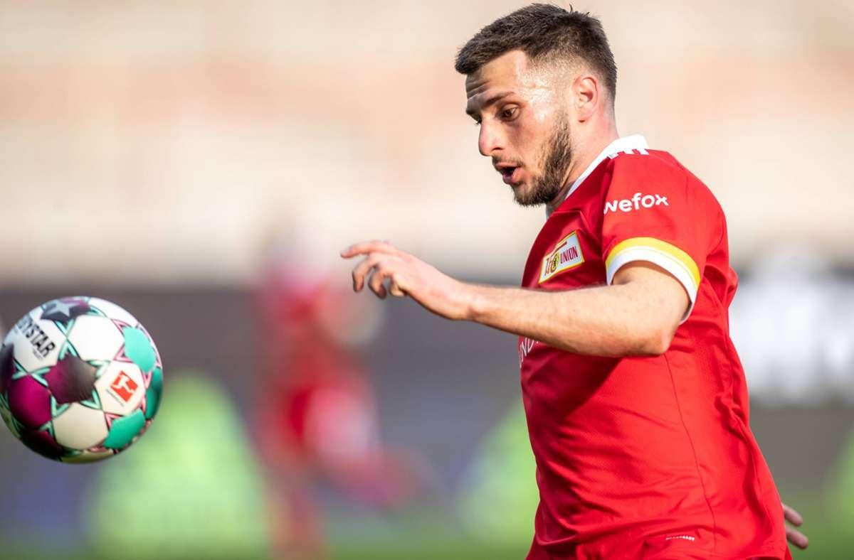 Ex-VfB-Spieler Leon Dajaku muss in Quarantäne. Foto: imago images/Andreas Gora