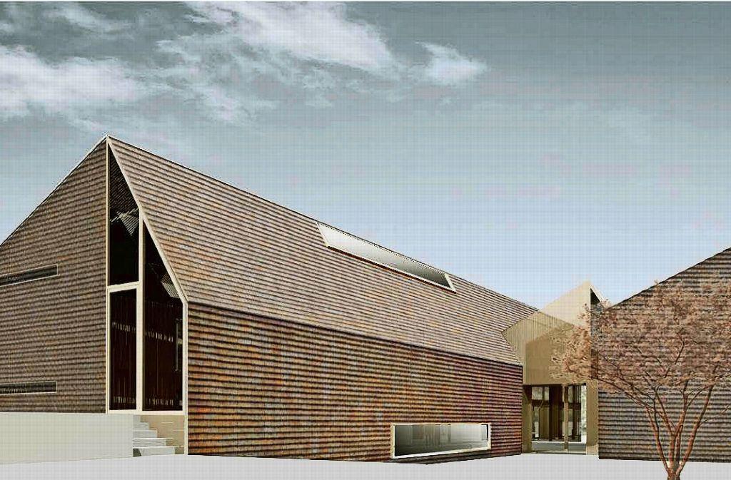 Die Form ist verbindlich, die Fassadengestaltung aber noch verhandelbar. Foto: U3BA