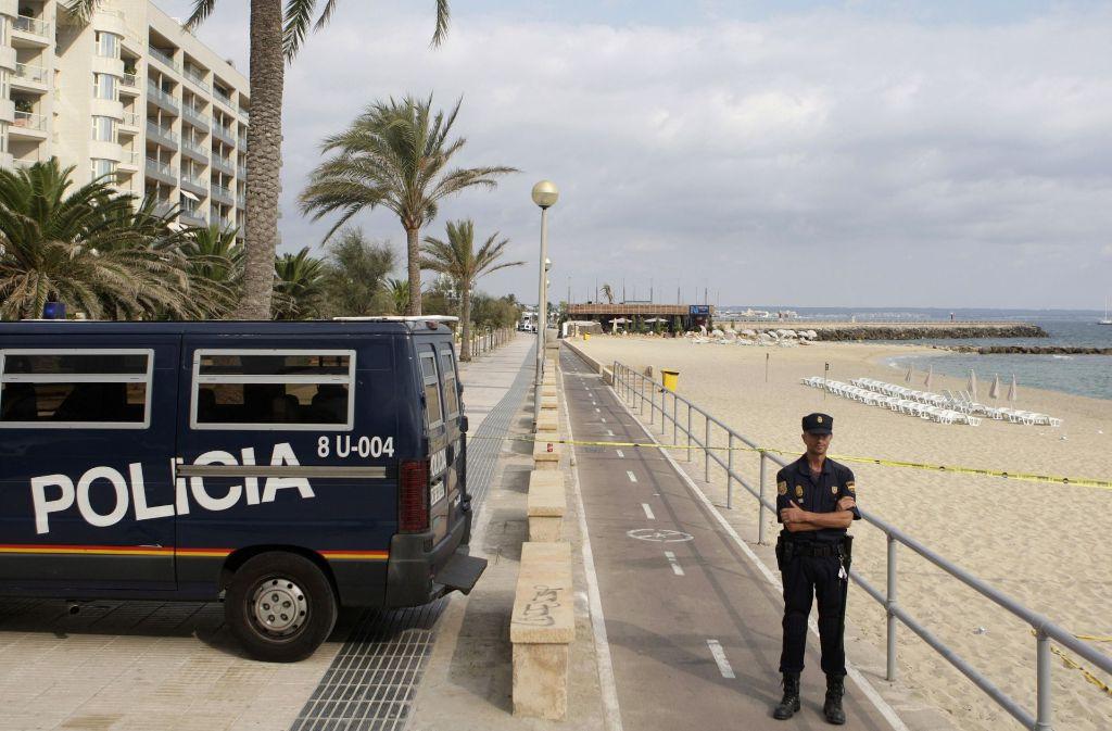Der spanischen Polizei ist ein als Teufel verkleideter Mörder ins Netz gegangen. (Symbolbild) Foto: AP