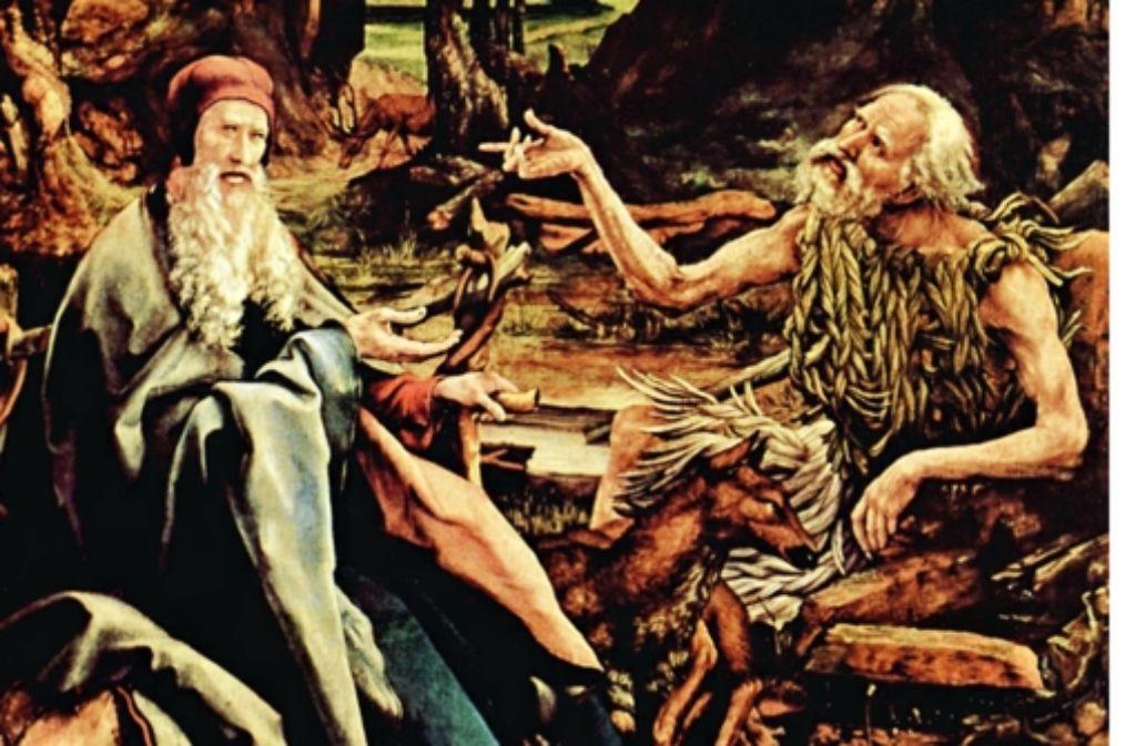 Als Eremit – wie hier Paulus von Theben – hat man's manchmal gut Foto: StZ