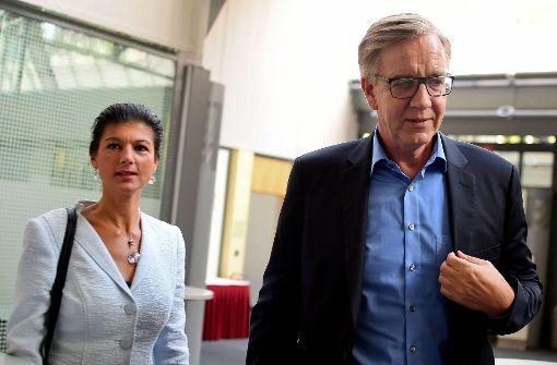Wagenknecht und Bartsch erneut an Fraktionsspitze gewählt