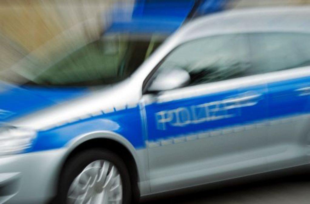 Am Montagmorgen rückt die Polizei nach Leonberg aus, um einen jugendlichen Autofahrer zu stellen. Foto: dpa/Symbolbild