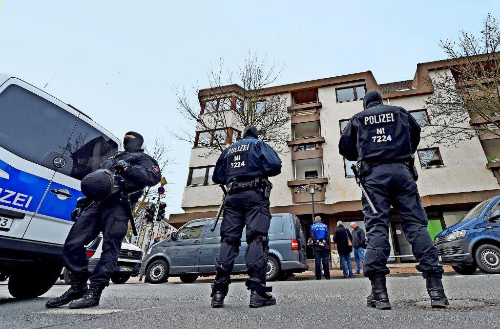 Razzia beim Deutschsprachigen Islamkreis Hildesheim Foto: dpa