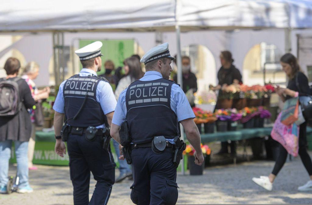 Wie wählen Polizisten aus, wen sie kontrollieren? Darüber wird nach dem Tod des Afroamerikaners George Floyd in Minneapolis auch in Deutschland diskutiert. Foto: 7aktuell.de/Oskar Eyb
