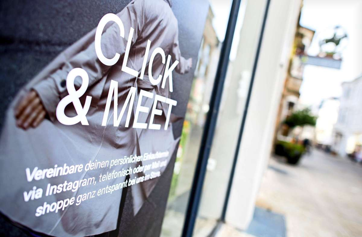 In der kommenden Woche wird das Shoppen im Kreis Esslingen wieder einfacher. Foto: dpa/Hauke-Christian Dittrich