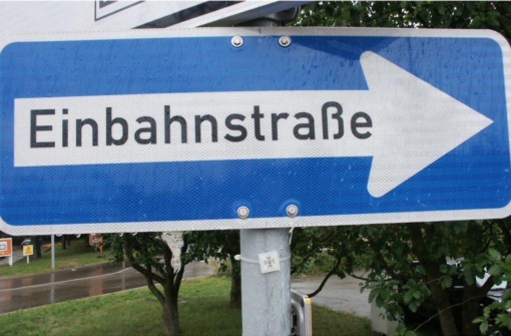 Künftig darf in der Steiermärker Straße nur noch stadteinwärts gefahren werden. Foto: Simone Bürkle