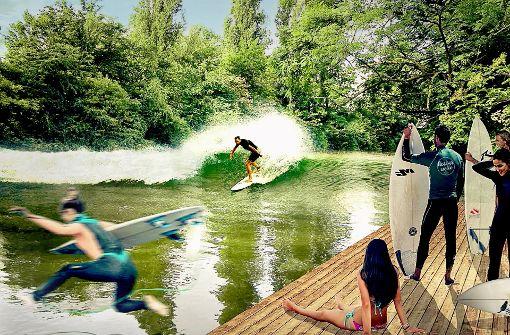 Stadträte begrüßen die Idee einer Surfwelle