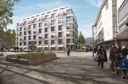 Stadt investiert kräftig in Rathausgaragen-Areal