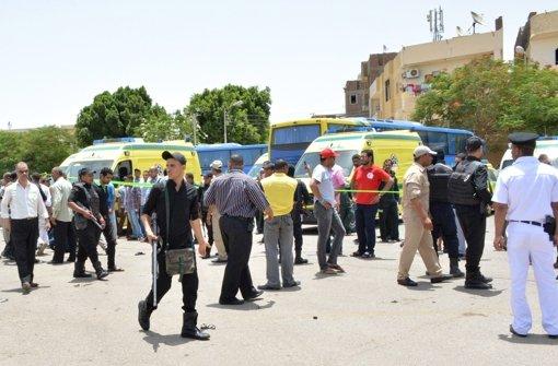 Anschlag in Ägypten - zwei Tote