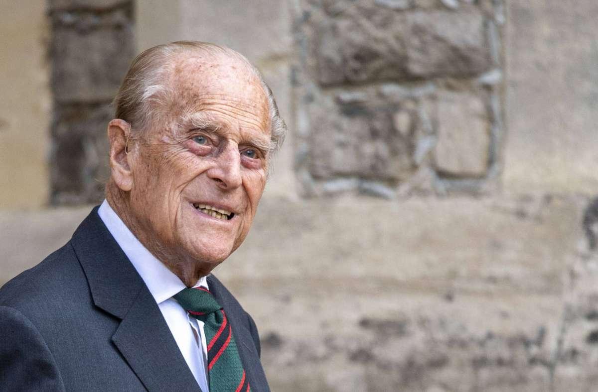 Der Ehemann von Queen Elizabeth II. ist mit 99 Jahren auf Schloss Windsor gestorben. Foto: imago images/PA Images/Anwar Hussein