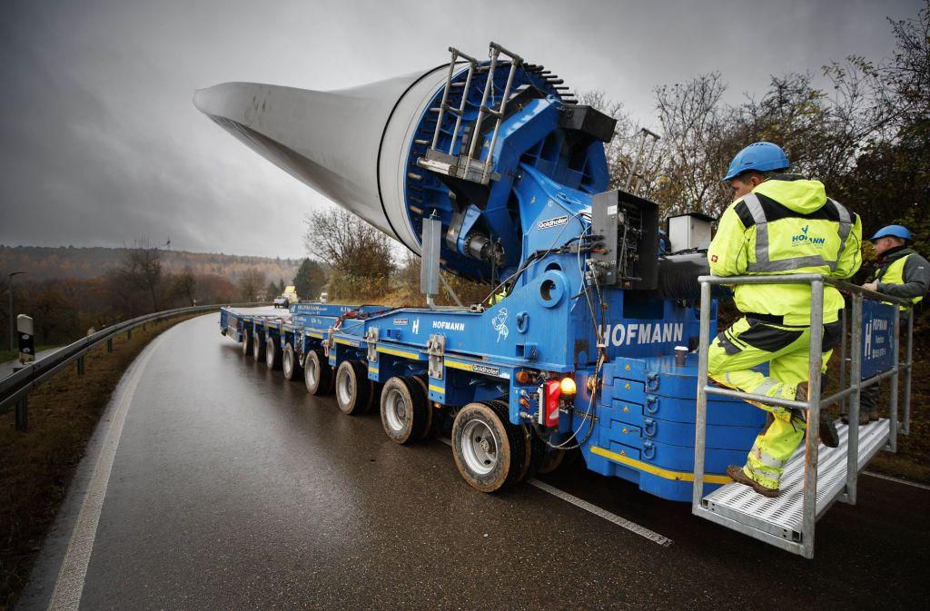 Nach dem Goldboden will die EnBW noch an weiteren Standorten im Rems-Murr-Kreis Windkraft nutzbar machen. Foto: Gottfried Stoppel