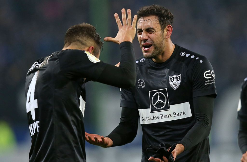"""Hamadi Al Ghaddioui – """"Ali G"""" – war der gefeierte Mann nach dem Sieg gegen den HSV. Foto: Pressefoto Baumann/Cathrin Müller"""