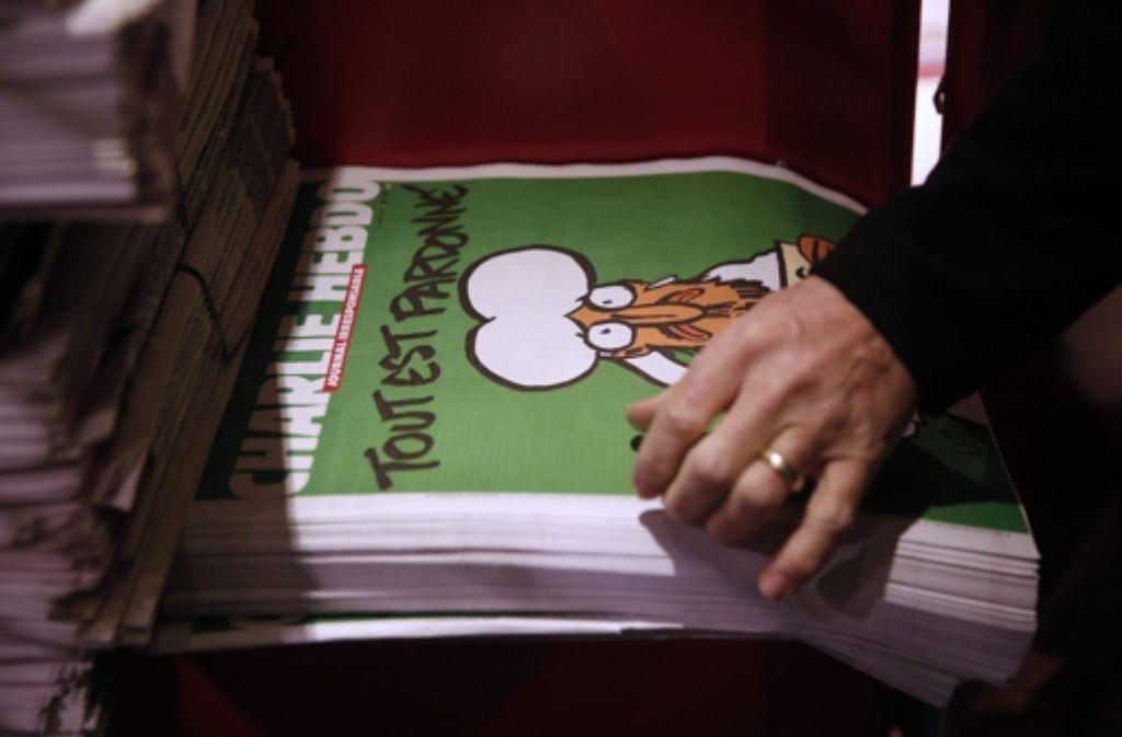 In der Türkei wurde eine Internet-Sperre für den neuen Titel von Charlie Hebdo verhängt.  Foto: EPA