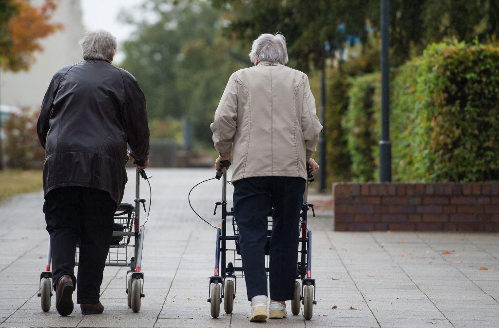 Die Zahl Rentenversicherten ist im Vergleich zum Vorjahr gesunken. Foto: dpa (Symbolbild)