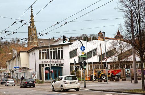 Die Schelztorhalle ist jetzt ein Kulturdenkmal