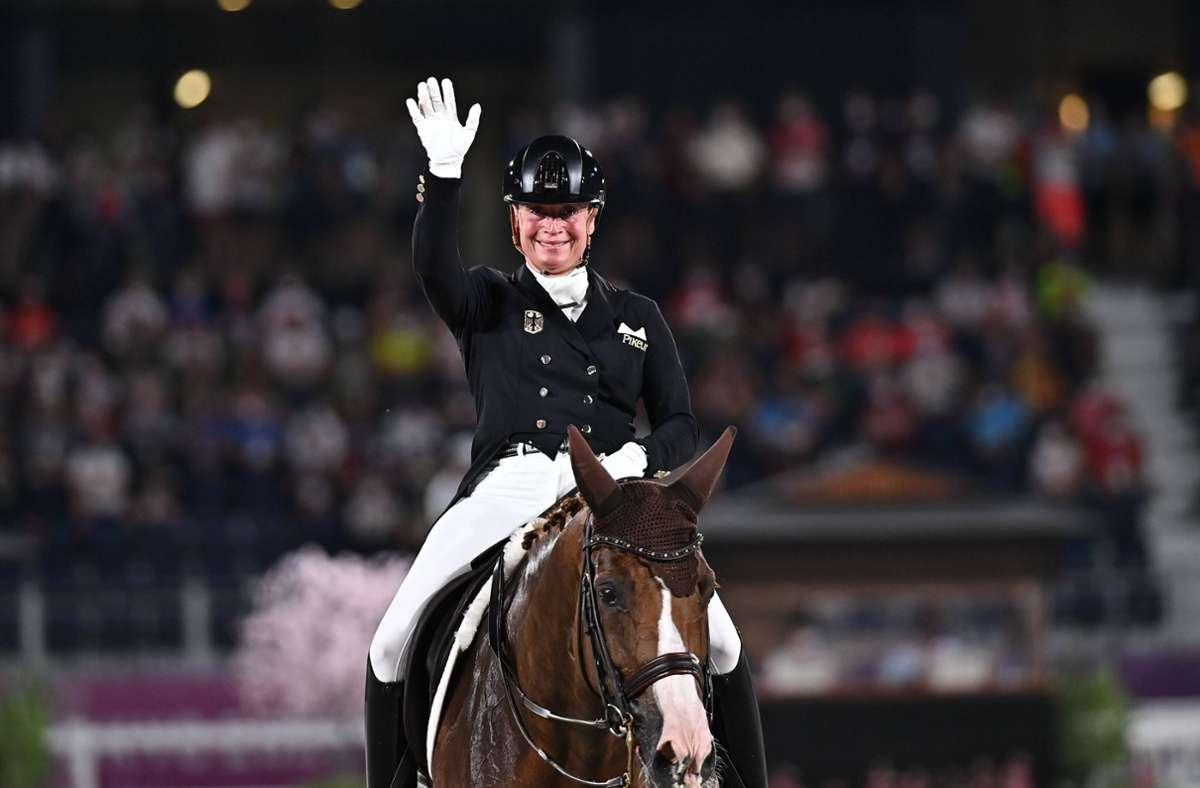 Isabell Werth ist die erfolgreichste Reiterin der Olympia-Geschichte Foto: imago images/Xinhua/Zhu Zheng