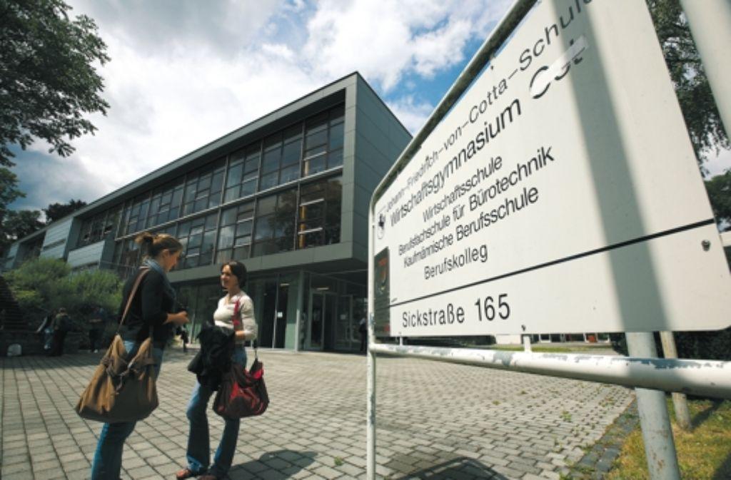 Die Johann-Friedrich-von-Cotta-Schule will sich verstärkt im Gebiet Raitelsberg engagieren. Foto: Michael Steinert