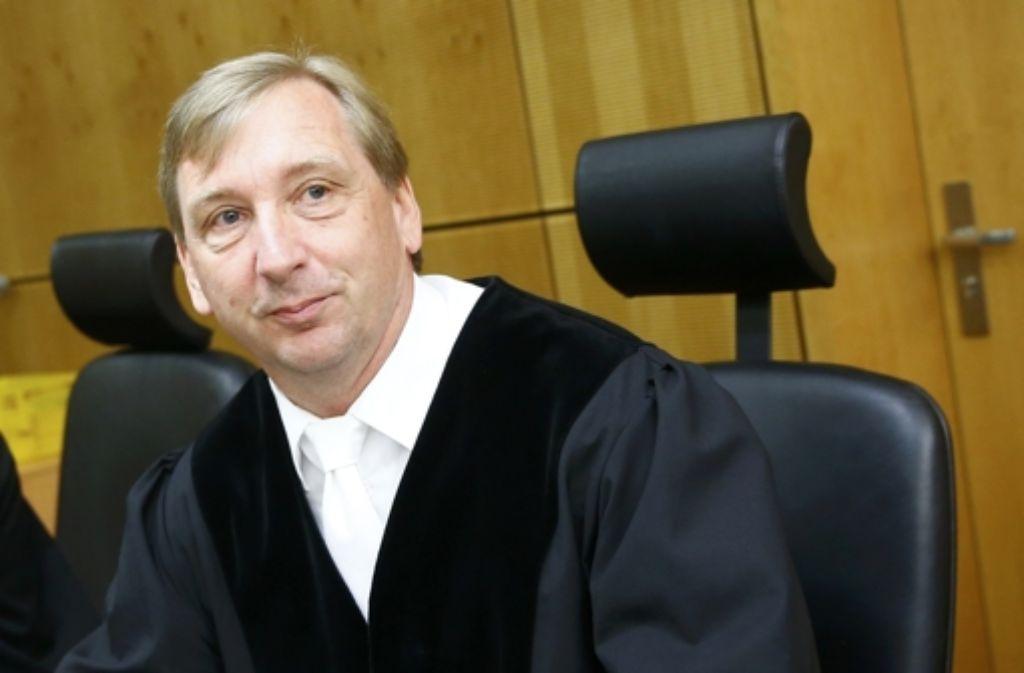 Der Richter Jens Aßling zeigt sich unüberzeugt. Foto: dpa