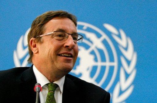 Achim Steiner leitet das UN-Umweltprogramm, sein Dienstsitz ist Nairobi. Foto: dpa - media.media.b2648429-4acd-4f6a-ad66-3434282cadf9.normalized
