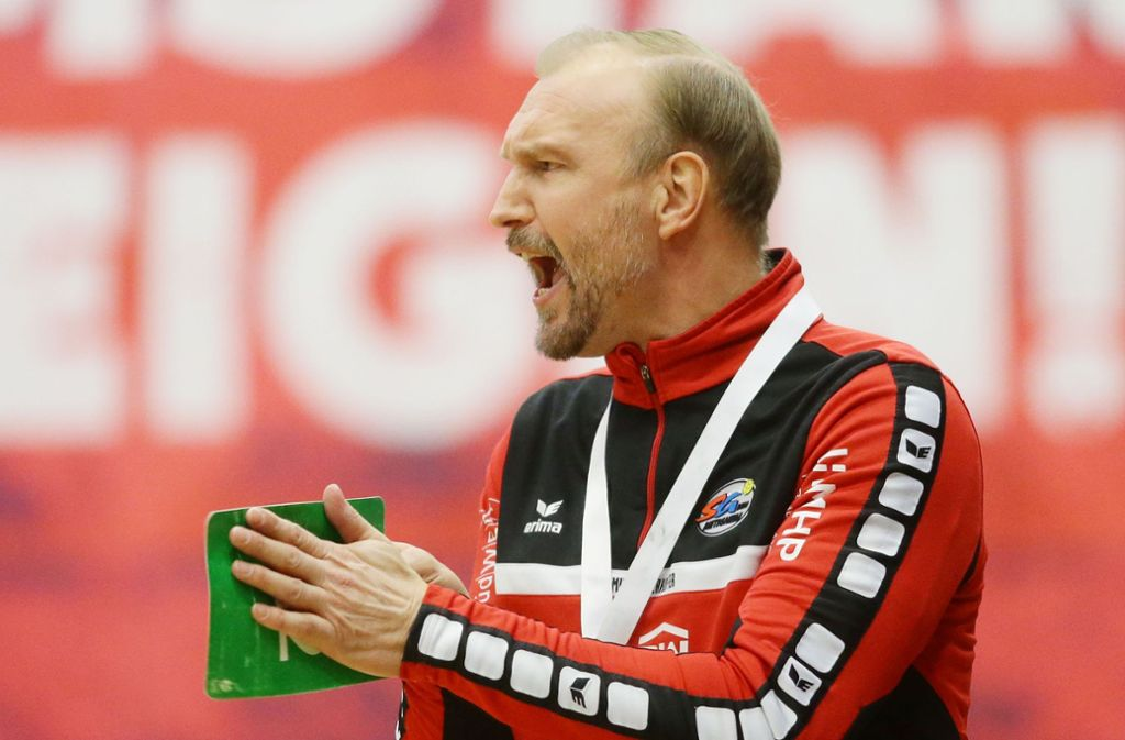 Hartmut Mayerhoffer verlässt die SG – mit dem Aufstieg? Foto: Baumann