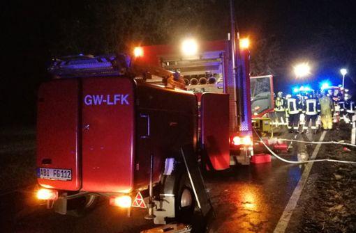 Drei Menschen sterben in brennendem Auto – Säugling gerettet