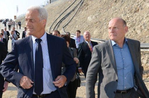 Stuttgart 21: Bau des Steinbühltunnels offiziell gestartet