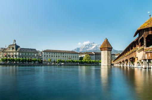 Luzern ist der Ausgangspunkt zur Erlebnisregion Luzern-Vierwaldstättersee