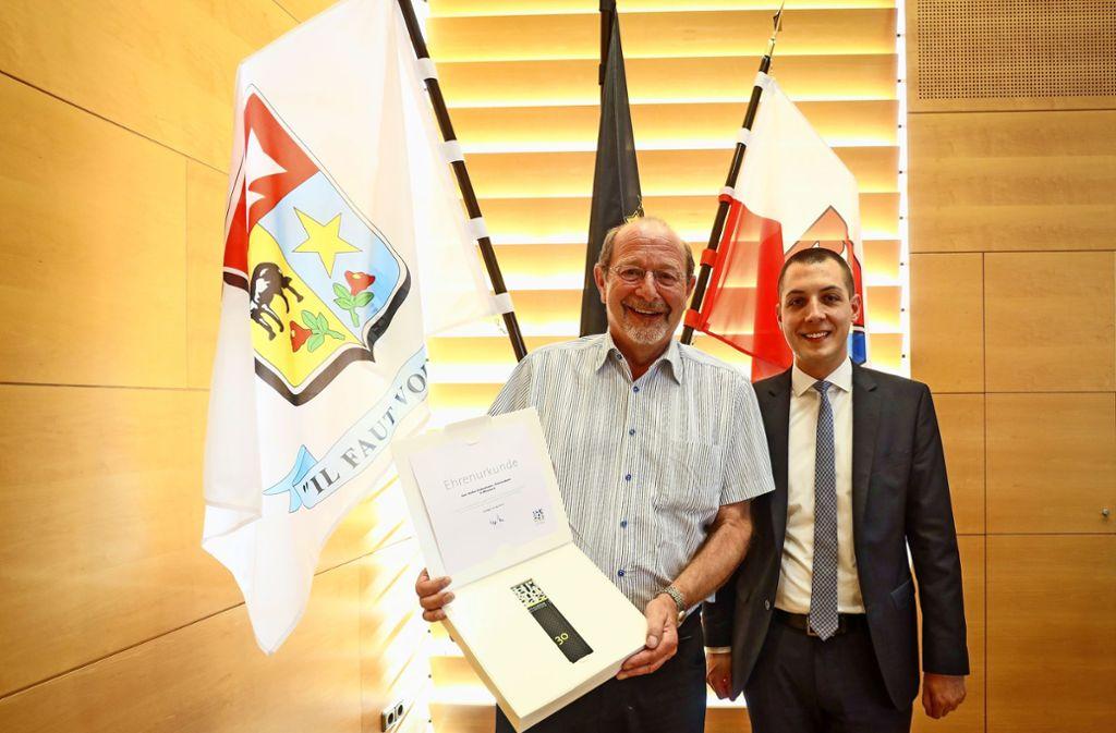 Seltenes Engagement: Volker Kühnemann war 35 Jahre im Rat. Foto: factum/