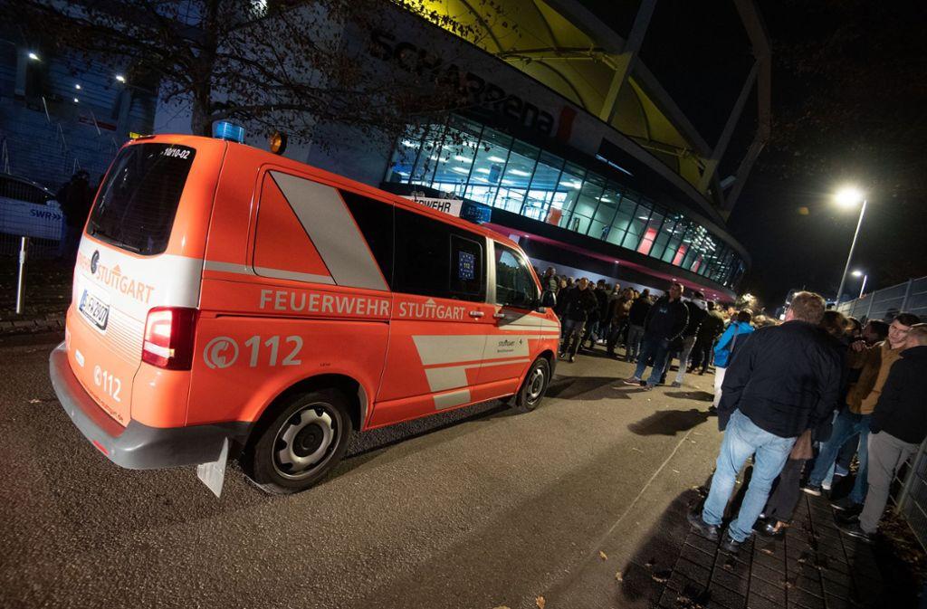 Die Feuerwehr ohne Not beim Handball – das soll nun ausgeschlossen werden. Foto: dpa/Marijan Murat