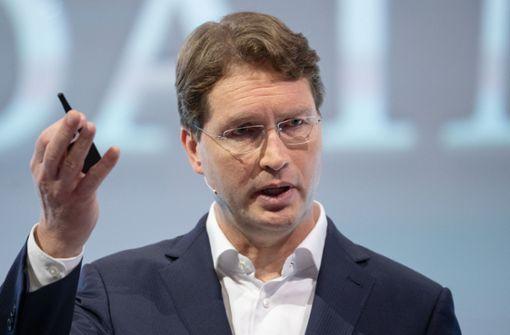 Der Daimler-Chef ist bald ein Jahr im Amt