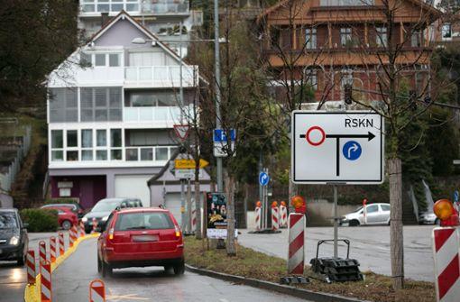Jede Menge neuer Baustellen in Esslingen