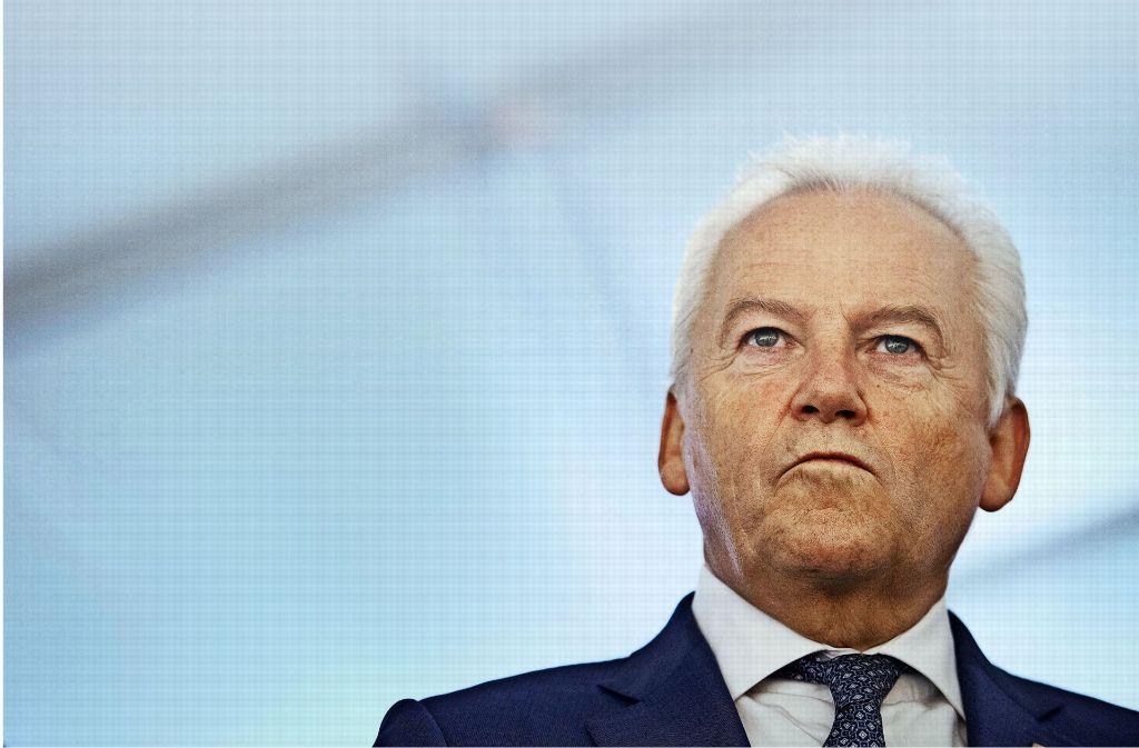 Groll gegen den Aufsichtsrat: Rüdiger Grube will nicht länger der Deutschen Bahn vorstehen. Foto: dpa
