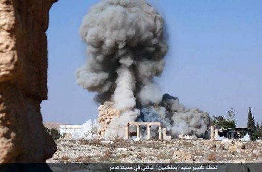 IS veröffentlicht Fotos von Tempel-Zerstörung