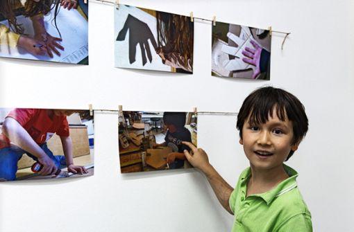 Zehn Jahre Kunst von Kindern