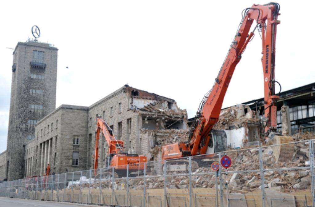 Verzögert sich: Die Baustelle am Hauptbahnhof Foto: dpa
