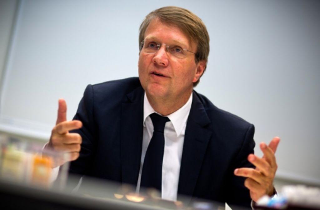 Der CDU-Mann Ronald Pofalla wird Bahn-Lobbyist, er will sein Bundestagsmandat aber trotzdem bis zum Jahresende behalten Foto: dpa