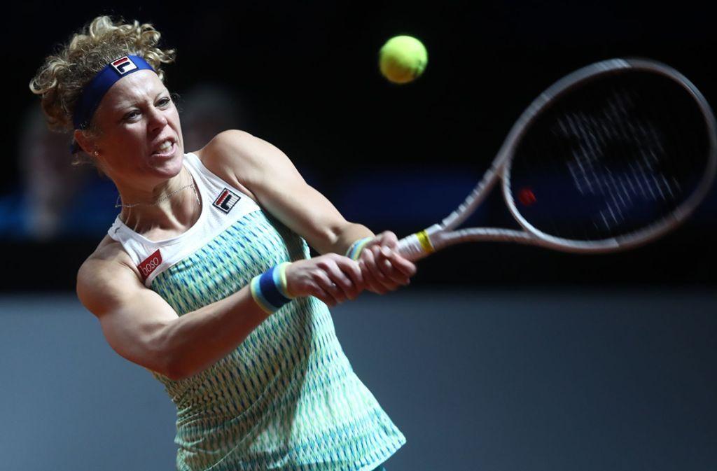 Laura Siegemund muss sich aus dem Turnier in Stuttgart verabschieden. Foto: Getty Images Europe