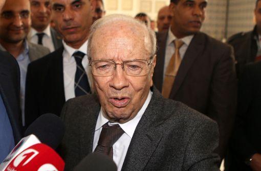 Tunesiens Präsident mit 92 Jahren gestorben