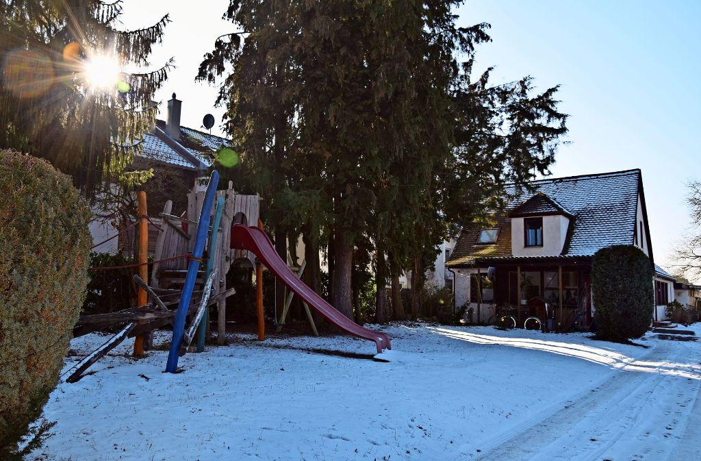 Derzeit liegt das Gelände am Ende der Kremmlerstraße im Winterschlaf. Foto: Alexandra Kratz