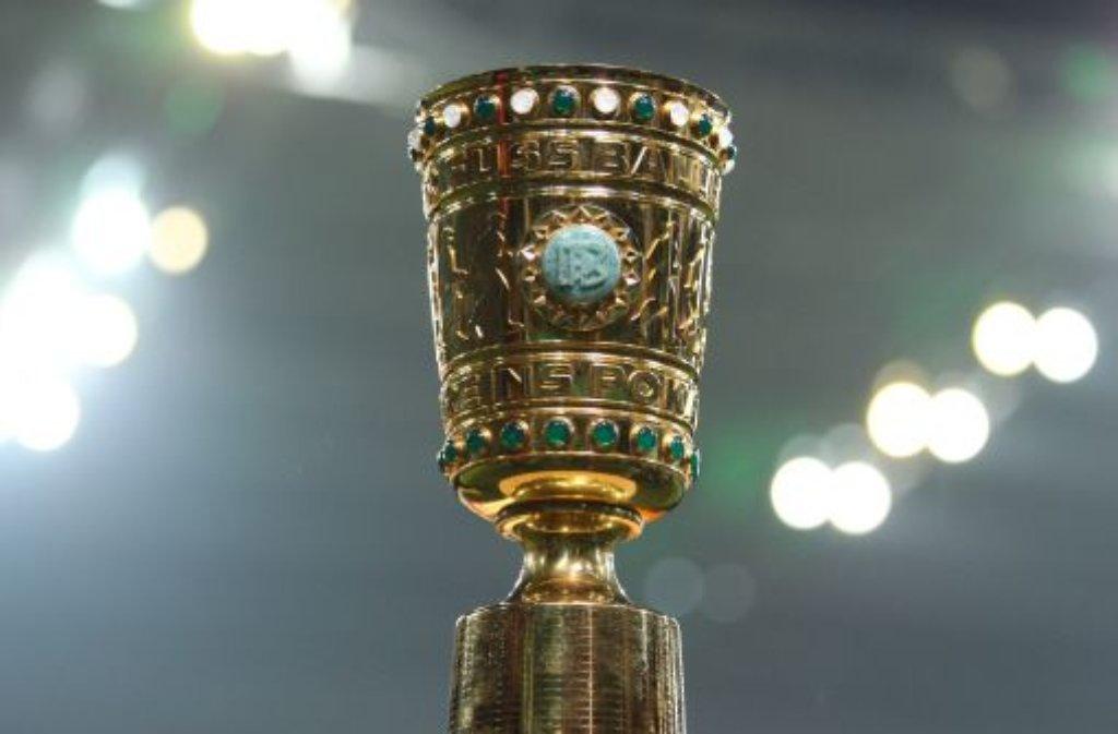 Auf dem Weg nach Berlin muss der VfB Stuttgart im Viertelfinale einen dicken Brocken aus dem Weg räumen: Der FC Bayern München ist zu Gast. Foto: dpa