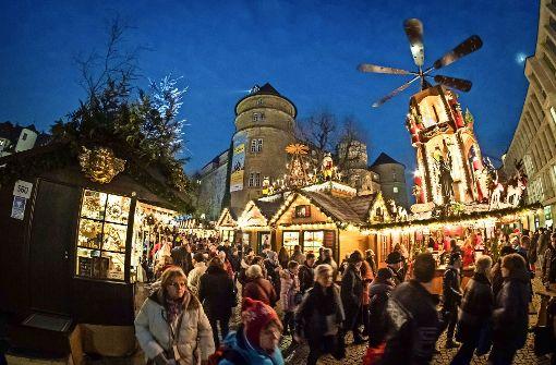 Besucherrekord auf dem Stuttgarter Weihnachtsmarkt