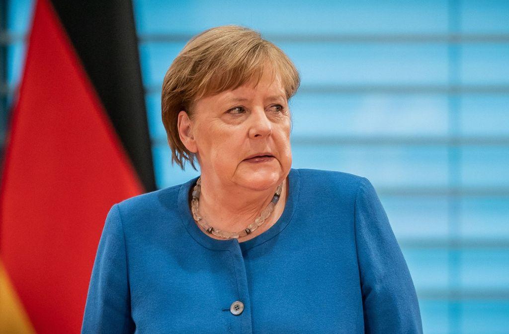 Im Kampf gegen die Ausbreitung dese Coronavirus haben die Bundeskanzlerin Angela Merkel und die Ministerpräsidenten eine Entscheidung getroffen. Foto: dpa/Michael Kappeler